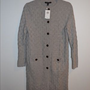 Grey Banana Republic Long Sweater New With Tags
